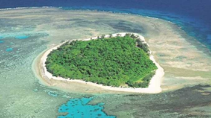 Lady Musgrave island, part of the Great Barrier Reef's Capricorn Bunker group of islands, only allows 20 people on the island at a time.