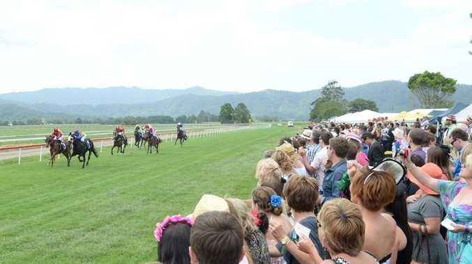 Crowds at last year's Melbourne Cup race day at Murwillumbah.