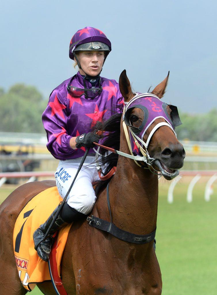 Jockey Carly-Mae Pye