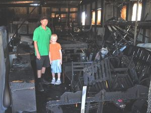 Young family faces bleak Christmas after Clifton fire