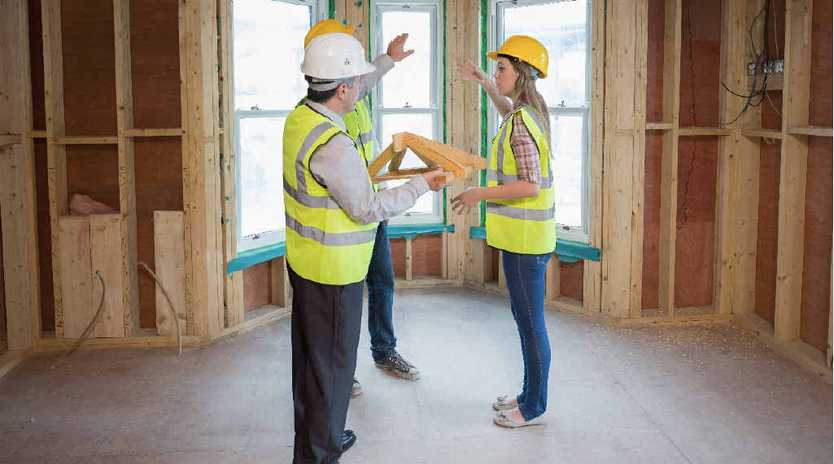 ON THE REBOUND: The building industry says a number of factors have contributed to a positive outlook.