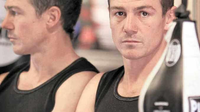 FOCUSED: Landsborough boxer Brett W Smith is all set for his WBF title fight.