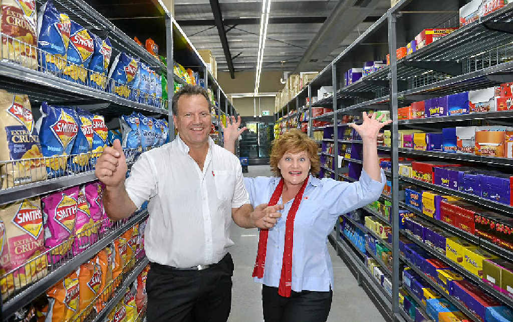 BIG MOVE: Michael and Roz White will soon be in their new IGA premises in Bli Bli.
