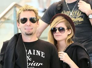 Avril and Chad don't drink apart
