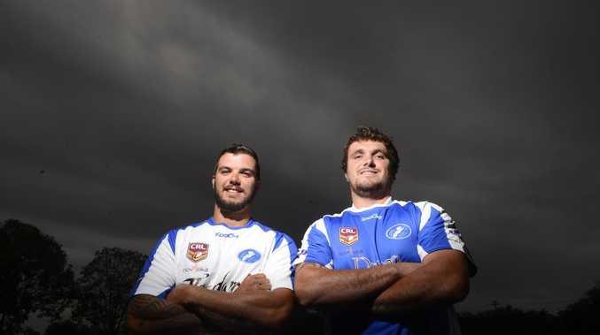 Brett Wicks and Ryan Binge will add plenty of size, skill and speed to the Grafton Ghosts next season.