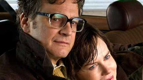 STAR COUPLE: Colin Firth and co-star Nicole Kidman in a scene from The Railway Man.