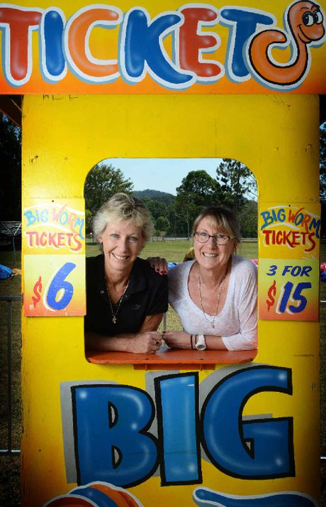 SHOWTIME: Mullumbimby Show pavilion co-ordinators Carolyn Reynolds and Janelle Parrington.