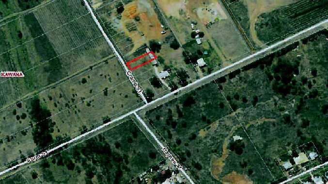 The location of the Ruckerts' semi-rural block on Farm St, Kawana.