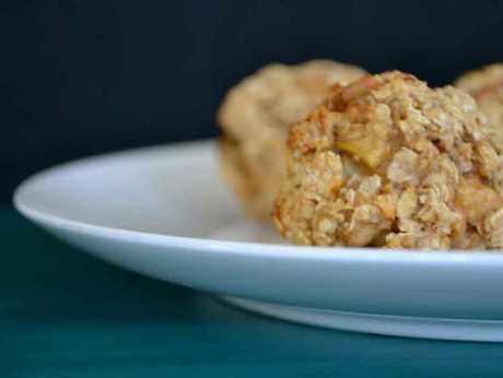 Breakfast balls - chewy in the middle, crunchy on the outside.