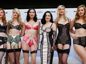Dita Von Teese lingerie launch spices up Myer fashions