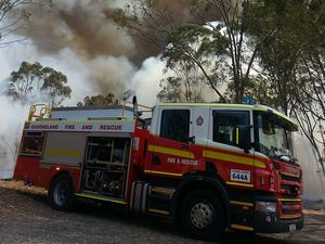Firefighters called to blaze near dump site