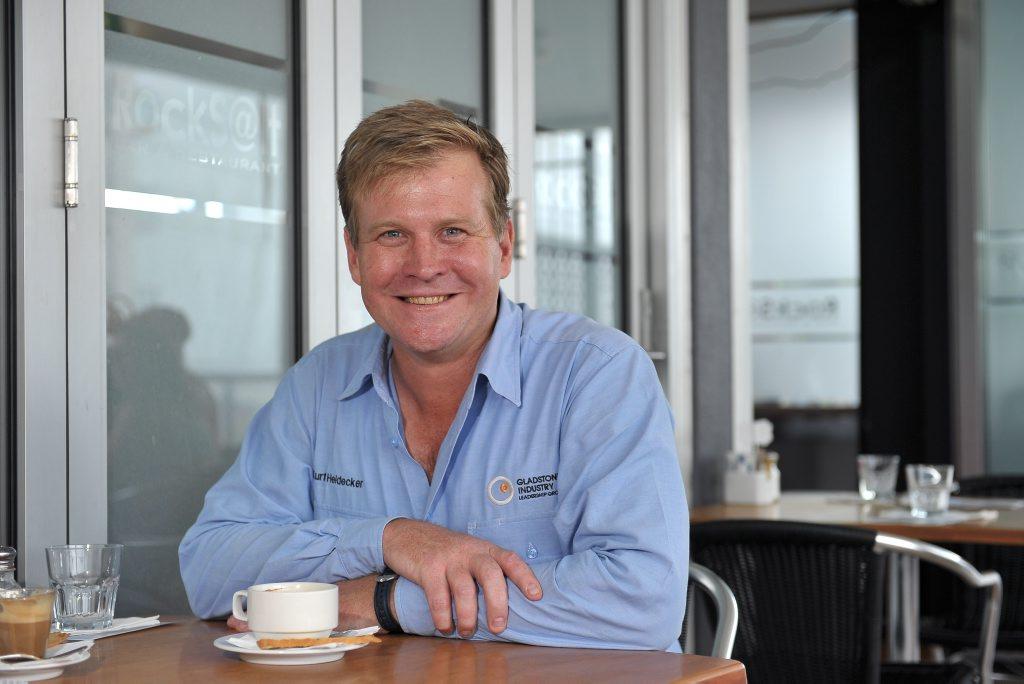 Gladstone Industry Leadership Group chief executive Kurt Heidecker.
