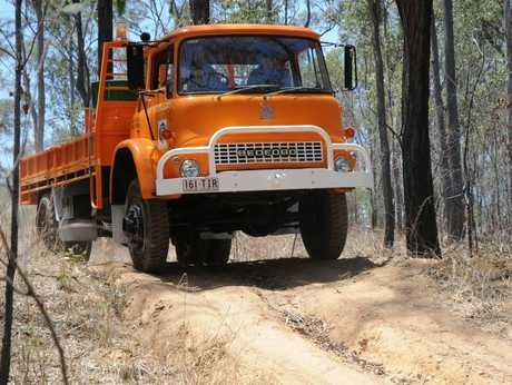 The Lockyer Valley's new rescue and resupply vehicle.