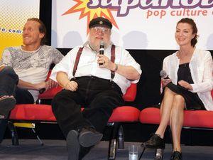 Game of Thrones author, stars at Supanova