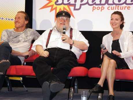 Game of Thrones author George R.R Martin at Brisbane's Supernova.