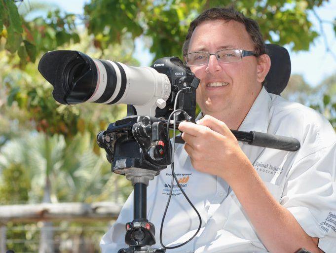 Hervey Bay photographer Mark Farrell.