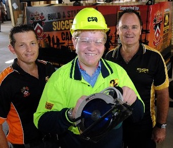 Providing students with a career pathway into the construction industry.