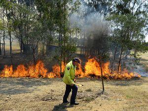Ebbw Vale bush fire
