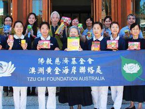 Buddhists help those doing it tough