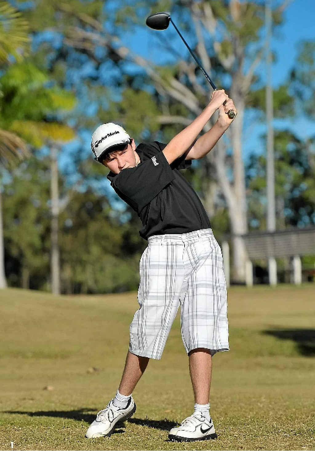 Harry Shuttleworth, 13, has had a stellar year on the CQ golf circuit.