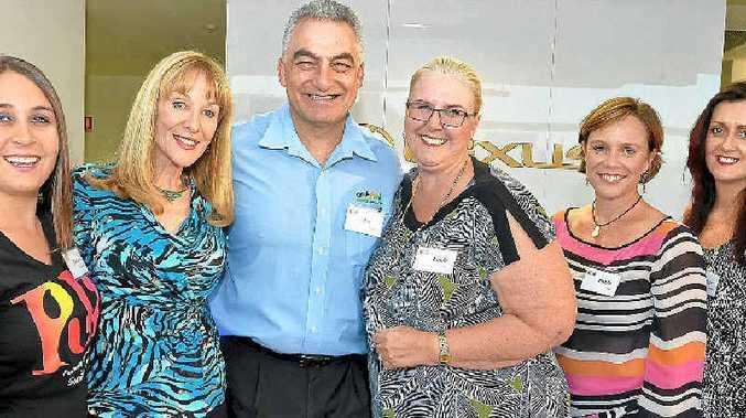CULTURAL PUSH: Sunshine Coast Arts Convention and Exhibition Committee members (from left) Marina de Jager, Alison Barry-Jones, Joe Natoli, Linda Morse, Paula Hey and Robin Tobin.