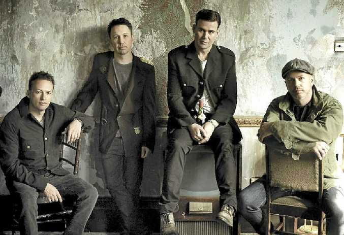 CROWD FAVOURITES: Grinspoon will headline the Golden Days Festival in Coolum tomorrow.