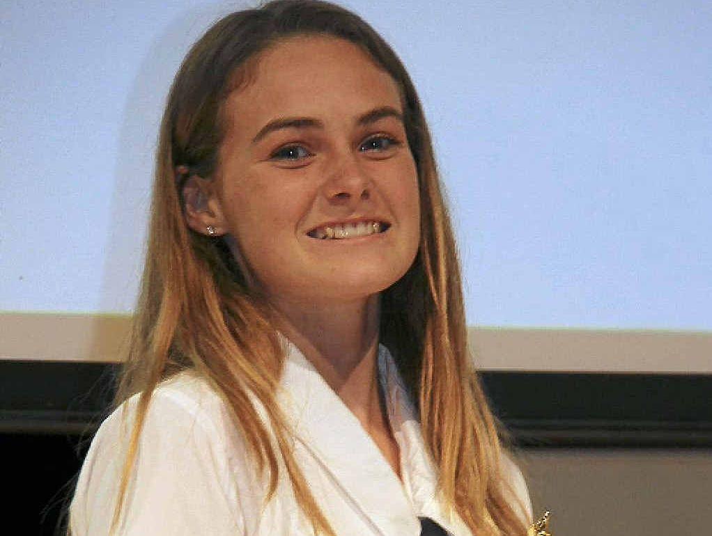 Senior School Performer of the Year, Britt Glasgow.