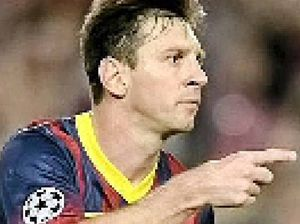 Messi nets two in Barca win