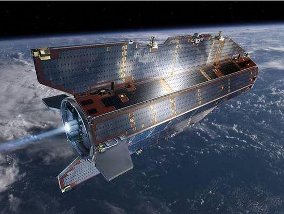 GOCE in orbit.