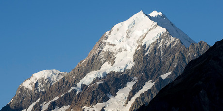 The female climber who was airlifted from Mt Cook National Park this morning has died.