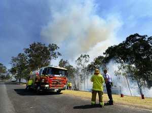 Ebbw Vale bushland blaze