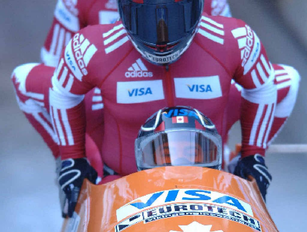 ON THE EDGE OF GREATNESS: Chris Spring and his Canadian teammates are aiming for gold at next year's Winter Olympic Games in Sochi, Russia.