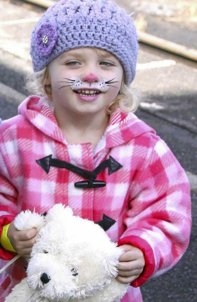 LITTLE TREASURE: Summer Steer's tragic death rocked the community and now a memorial garden has been created at her day care centre.