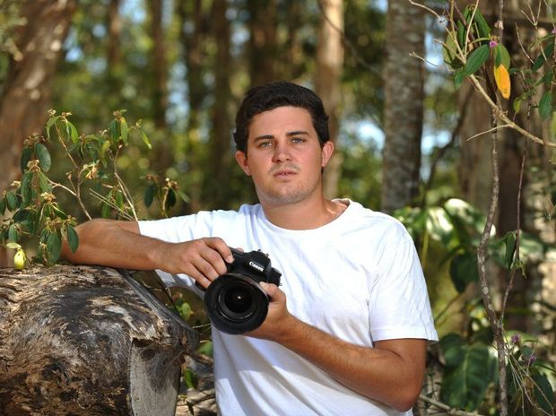 Dylan Pukall from Mudjimba went into the Fukushima exclusion zone in Japan to get some photographs of the adandoned area. Photo: Iain Curry / Sunshine Coast Daily