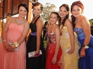 M'boro State High School girls rock their formal frocks