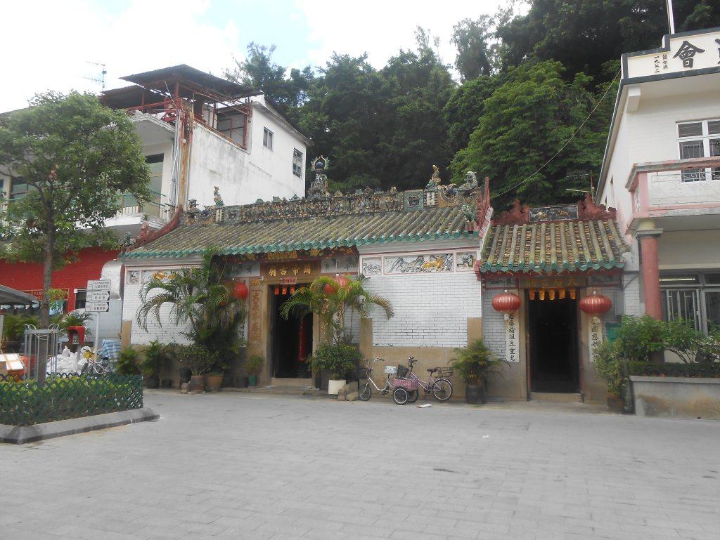 A 700-year-old temple on Lantau Island. Photo Crystal Jones / NewsMail