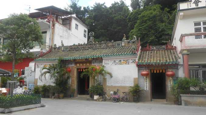 A 700-year-old temple on Lantau Island. Photo Crystal Jones / NewsMail