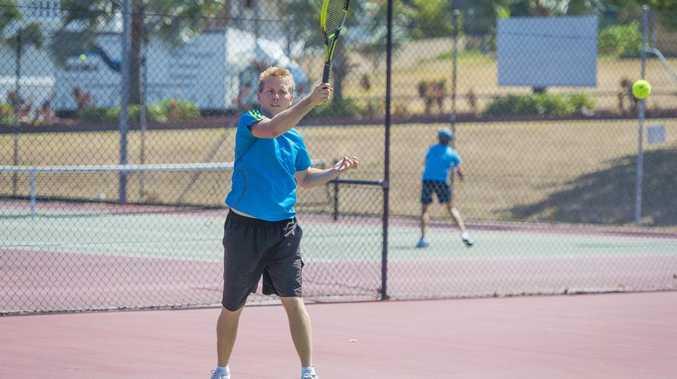 Open men's singles contestant Brendan Warwick.