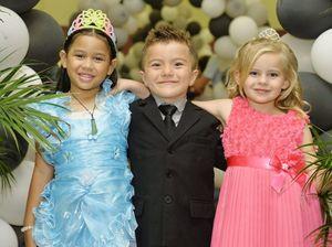 Prep kids have a fun time at mini ball
