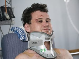 Supercross crash survivor