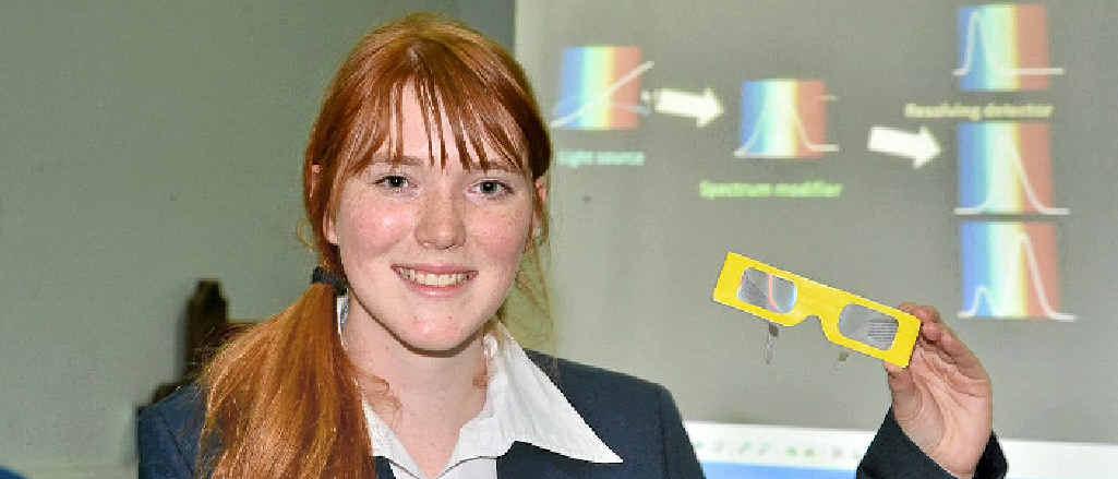 St Patrick's College dux Jasmine Colley.