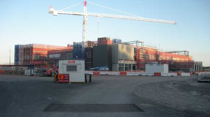 Photos from the construction of the Sunshine Coast University Private Hospital beginning in December 2011.