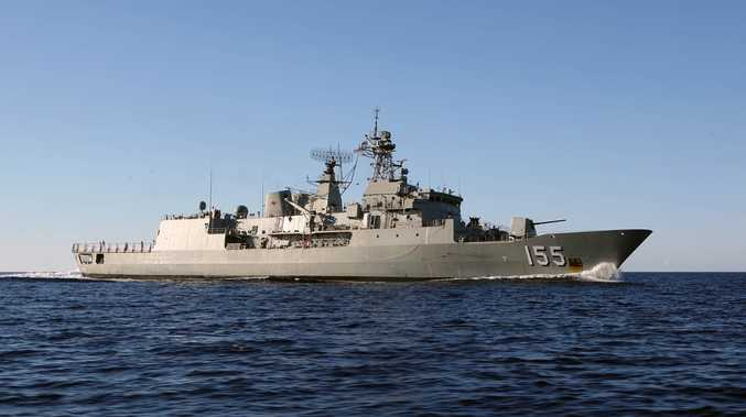HMAS Ballarat