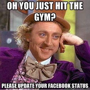 Condescending Willy Wonka knows what's up.