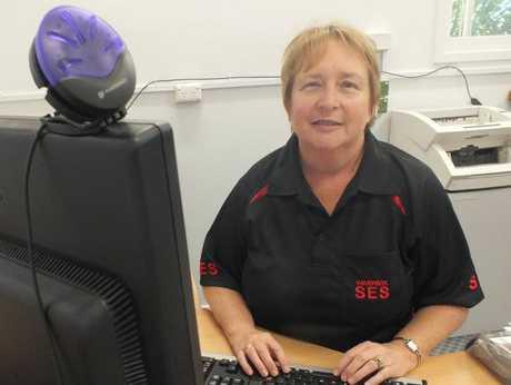 SES volunteer Roslyn Newley.