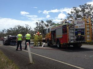 M'boro-Hervey Bay Rd reopens after single-vehicle rollover