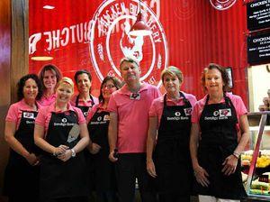 Breast cancer fundraiser barbie