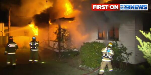 Firefighters battle a house blaze near Toowoomba that claimed the life of an elderly man.