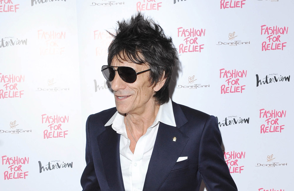 Rolling Stones rocker Ronnie Wood.