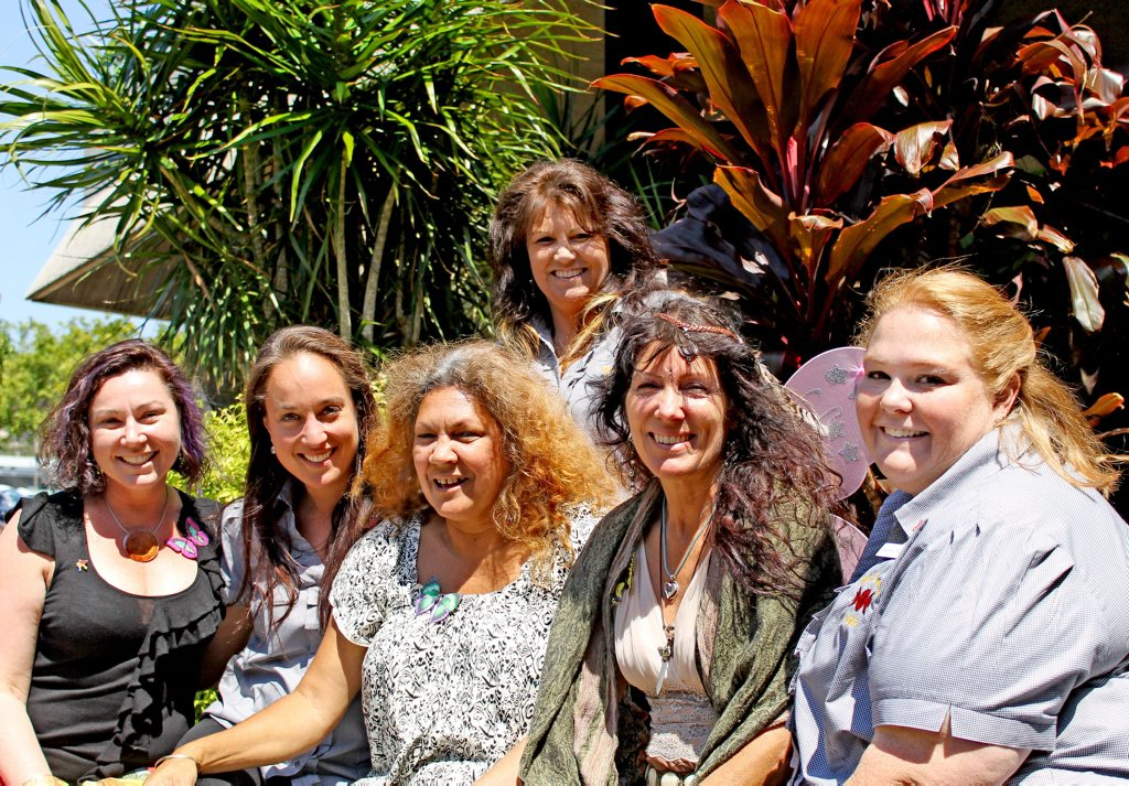 Nell Angus, Nicoline Schor, Deirdre Currie, Mel Brown, Yahndi Deenay and Tracey Doherty.